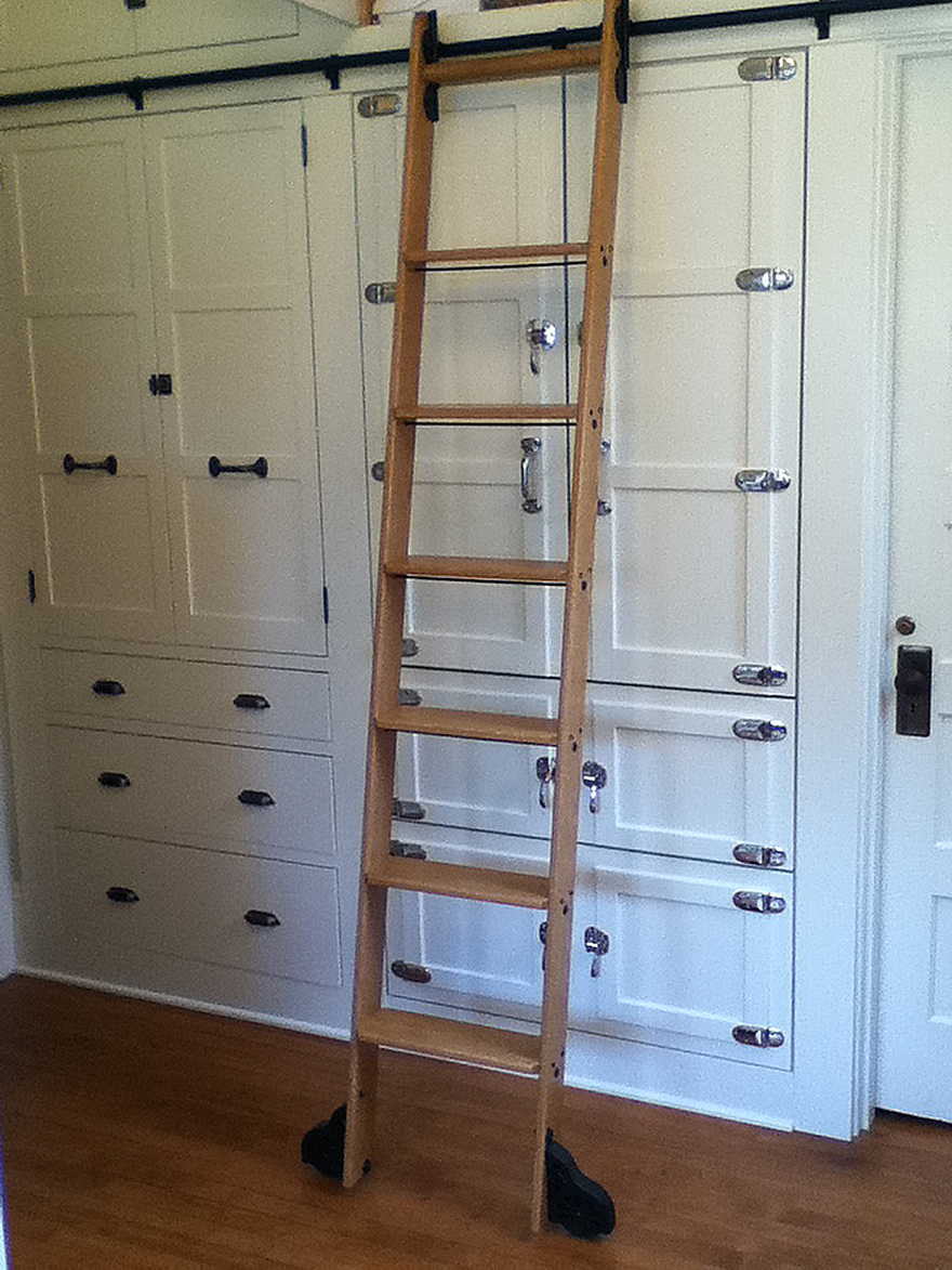 8 Clever Ways To Use A Rolling Library Ladder All Over The. Benjamin Moore Gray Wisp. Garage Conversion. Modern Garden. Home Builders In Northern Va. Shelf With Hanging Rod. Double Towel Bar. Crab Rug. Property Brothers Kitchens
