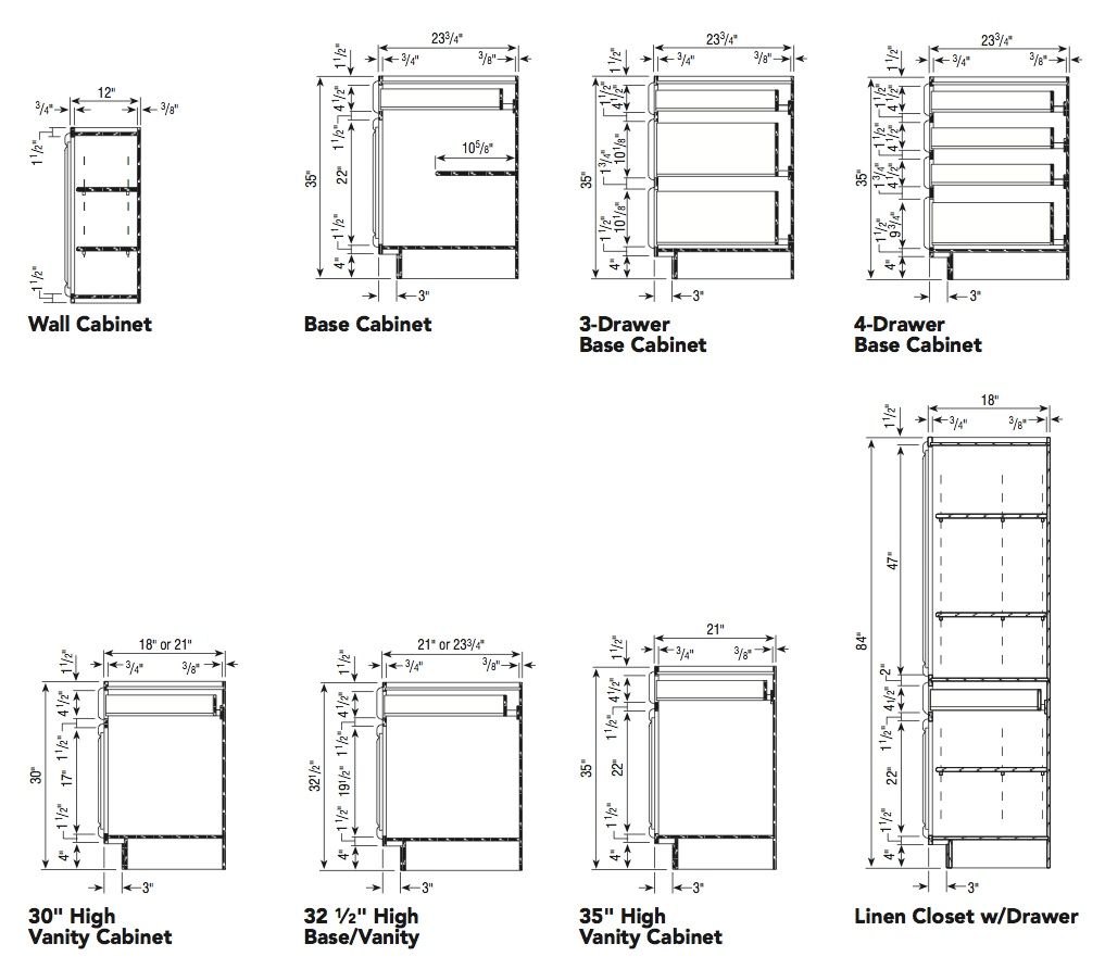 Cabinet Construction Drawings : Construction