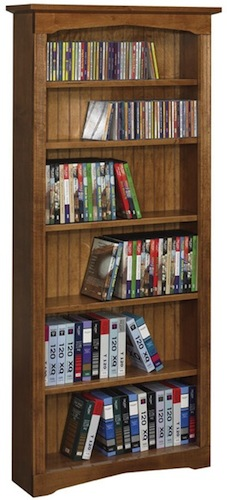Arthur Brown multimedia bookcases