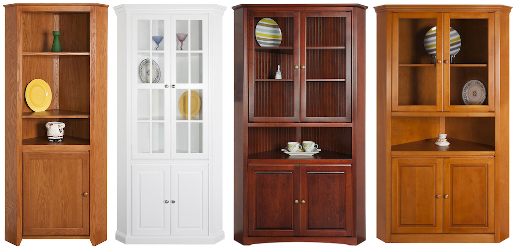Arthur Brown 5-sided corner cupboards