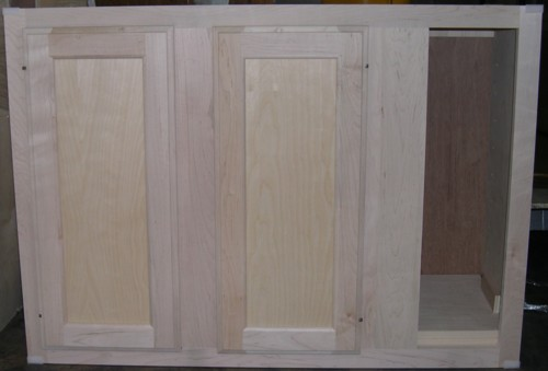 Blind wall cabinet
