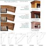 Crown: Crown Moulding, 8-Foot Piece