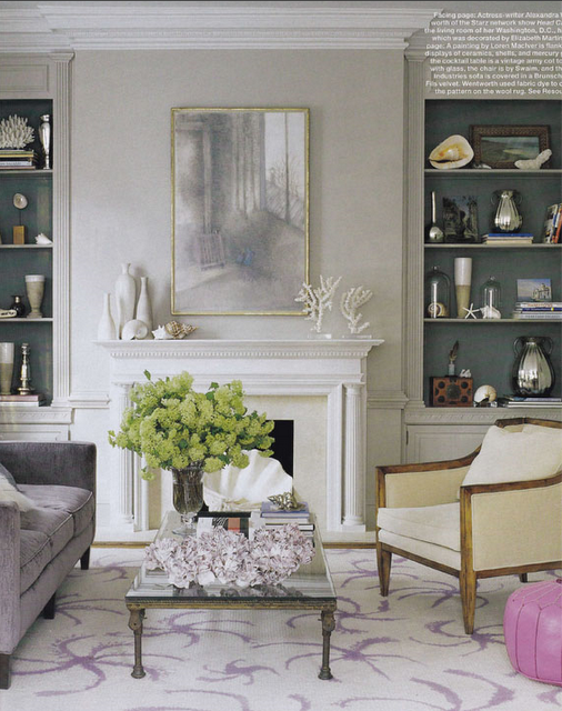 Bookcases With Decorative Objects